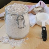 Gluténmentes lisztkeverék házilag, xantángumi és guargumi nélkül